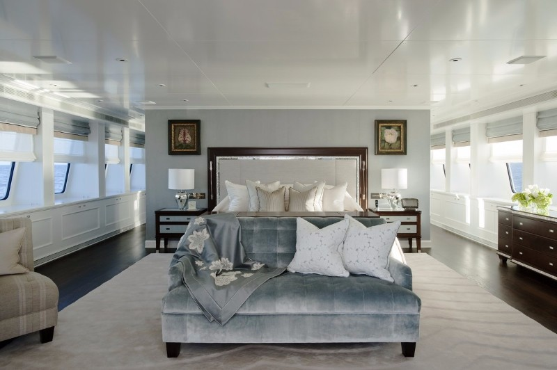 beach style beach style 10 Beach Style Bedrooms with a Grain of Salt Superyacht Bedroom by Ezralow Design in Beach Style