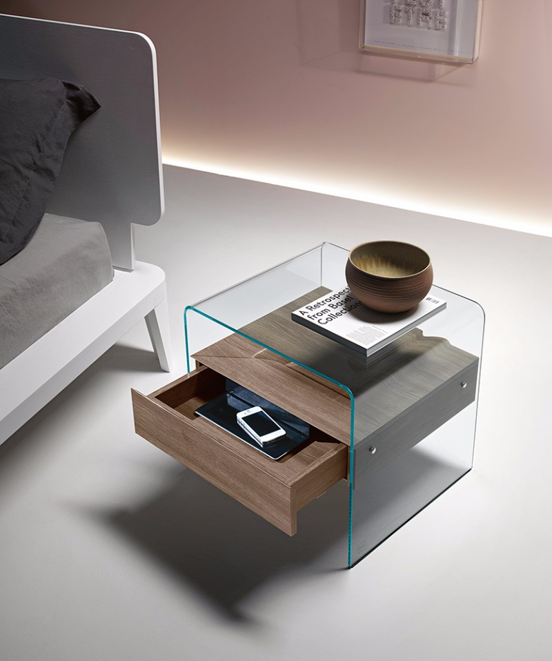 modern nightstand Top 15 Modern Nightstands Found on Pinterest contemporary nightstand design for modern master bedroom design