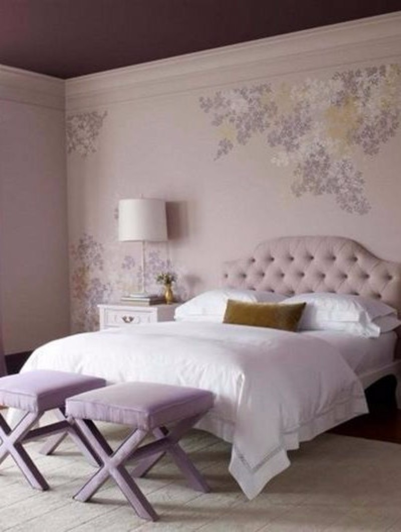master bedroom 10 Magnificent Upholstered Master Bedroom Benches decorao parede do quarto Custom 1960593527