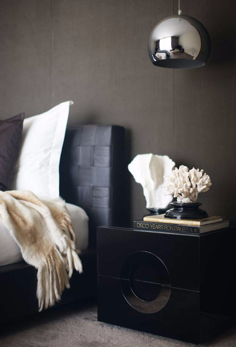 modern nightstand Top 15 Modern Nightstands Found on Pinterest gorgeous black nightstand design ideas for modern master bedrooms