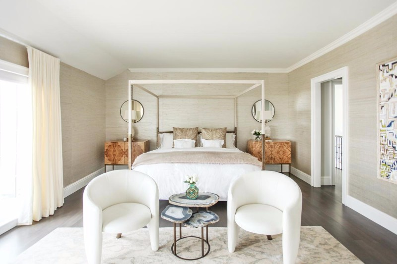 Bedroom Design Bedroom Designs By Top Interior Designers: Sasha Bikoff  Gorgeous Master Bedroom Design Sasha