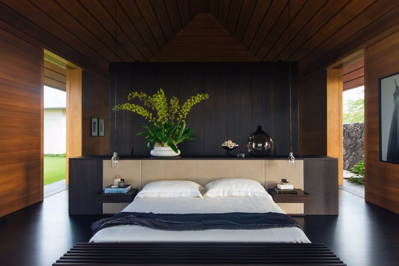 Modern Room 10 Modern Rooms By Famous Interior Designers Modern Bedroom In  Black And Wood By