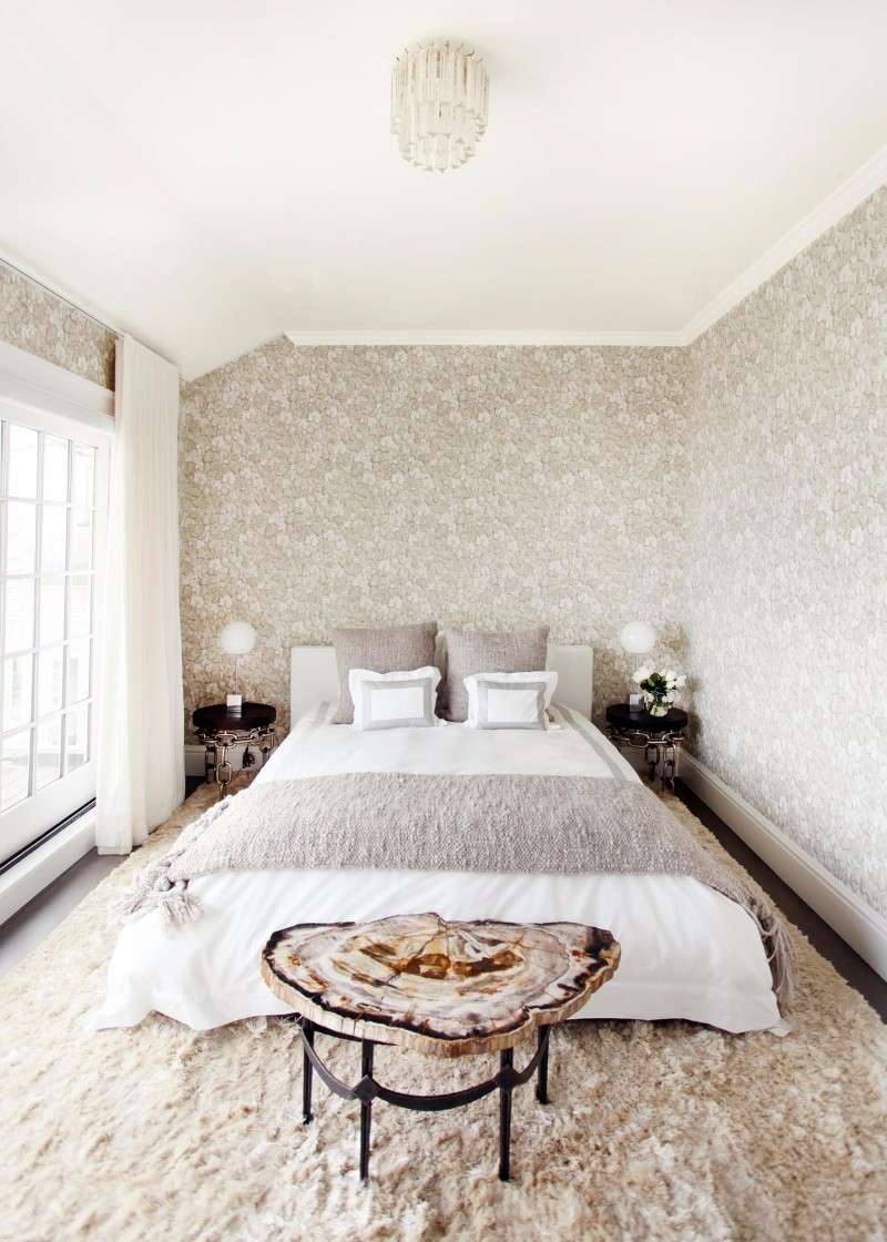 bedroom design Bedroom Designs by Top Interior Designers: Sasha Bikoff sasha bikoff modern bedroom in grey tones master bedroom design ideas