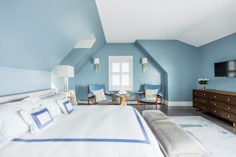 bedroom design Bedroom Designs by Top Interior Designers: Sasha Bikoff soothing blue bedroom design sasha bikoff
