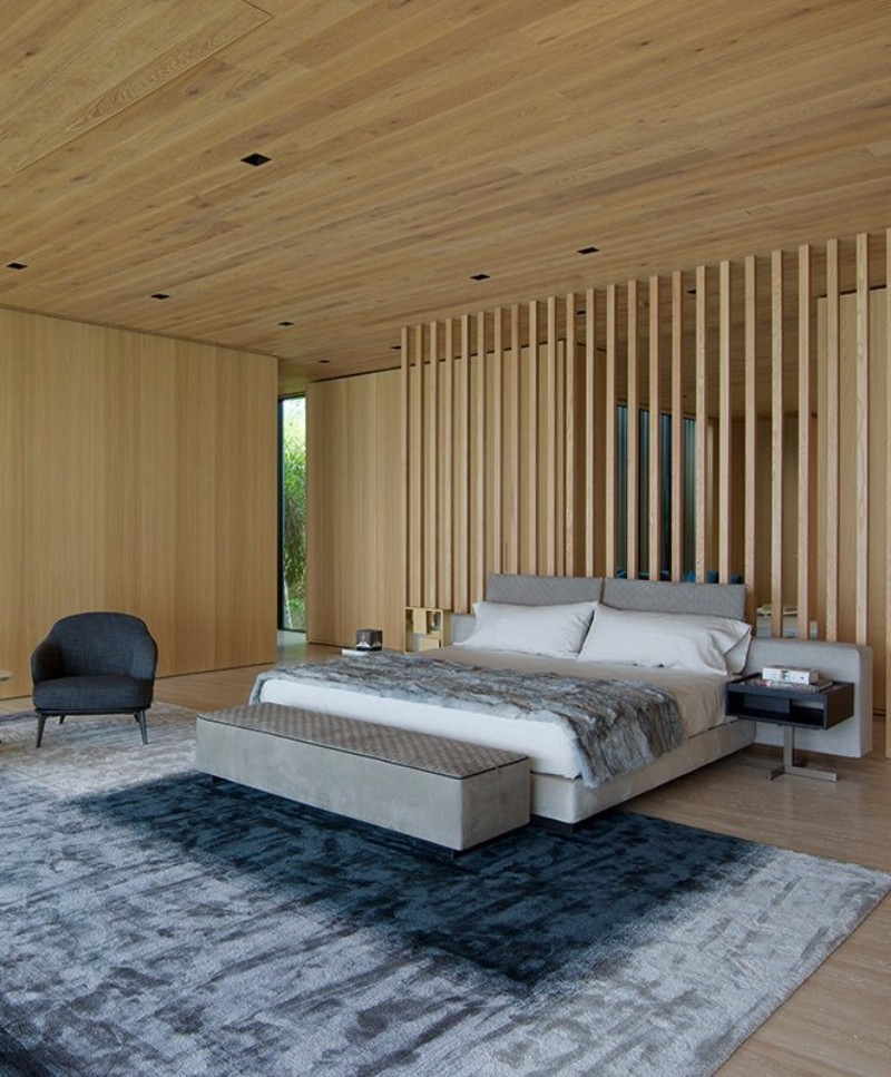 charming fireplace master bedroom decorating ideas | 14 Charming Bedrooms with Wood Floor Design – Master ...