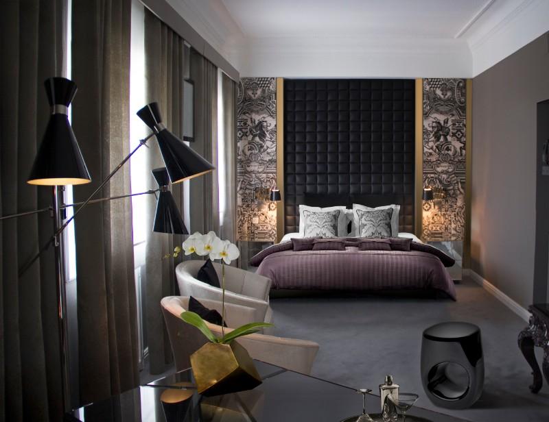 master bedroom design 10 Master Bedroom Design Ideas for Fall 2017 Boca do Lobo Erosion Stool Luxury Hotel Room Infante Sagres