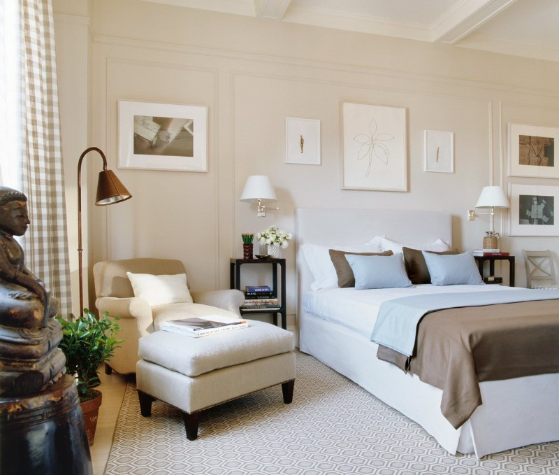 36 Master Bedrooms featured in Top design Magazines master bedroom 36 Master Bedrooms featured in Top design Magazines Charming transitional bedroom by Timothy Whealon