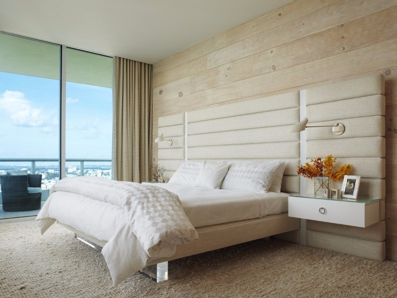 36 Master Bedrooms featured in Top design Magazines master bedroom 36 Master Bedrooms featured in Top design Magazines Gorgeous Miami Apartment bedroom by Fox Nahem Associates