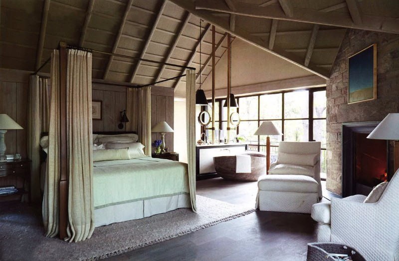 master bedroom 10 Master Bedroom trends for the Upcoming Winter 2017 Gorgeous traiditional bedroom design by Saladino group