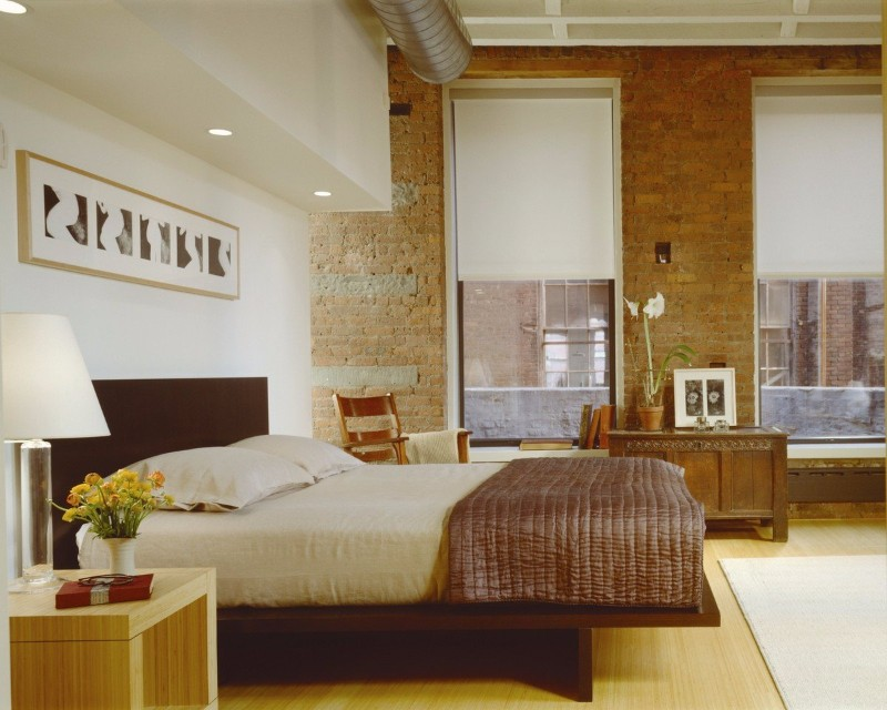 36 Master Bedrooms featured in Top design Magazines master bedroom 36 Master Bedrooms featured in Top design Magazines Ike Kligerman Barkely Tribeca Loft