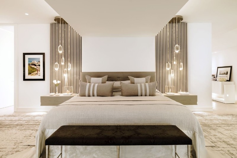 36 Master Bedrooms featured in Top design Magazines master bedroom 36 Master Bedrooms featured in Top design Magazines Luxury master bedroom design by Kelly Hoppen Interiors