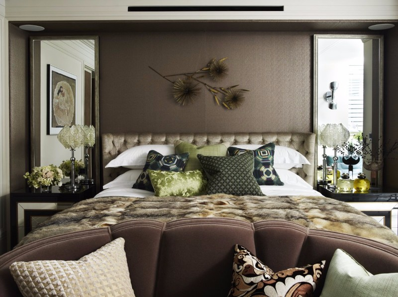 master bedroom 10 Master Bedroom trends for the Upcoming Winter 2017 Master Bedroom design in charming brown tones by Hubert Zandberg