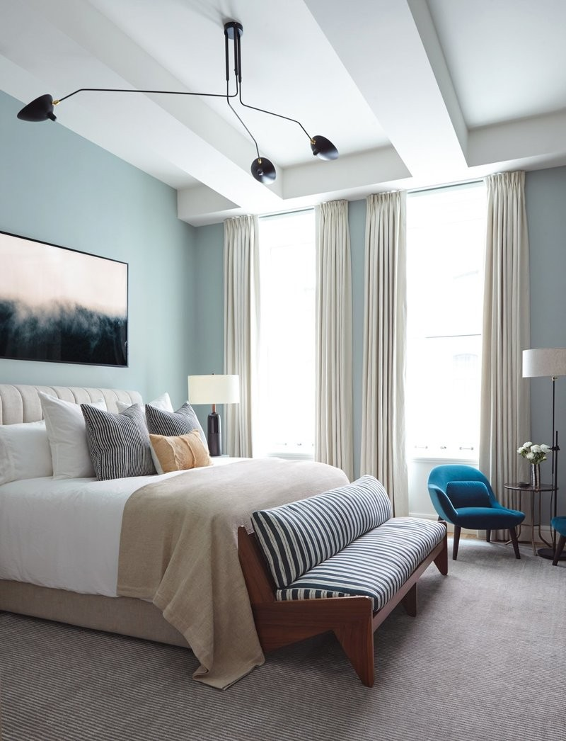 36 Master Bedrooms featured in Top design Magazines master bedroom 36 Master Bedrooms featured in Top design Magazines Sterling Mason Bachelor pad by Consort Design
