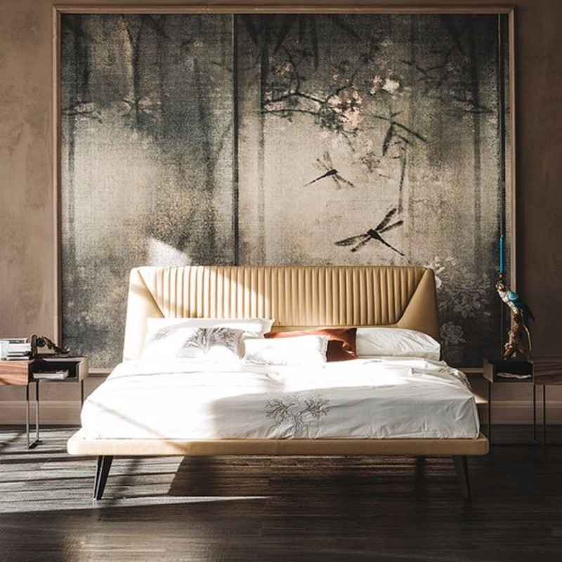 master bedroom master bedroom 10 Master Bedroom trends for the Upcoming Winter 2017 Stunning bed design with an amazing wall board