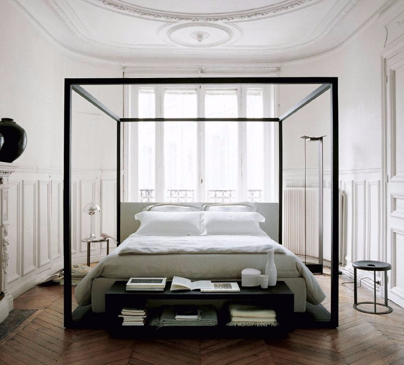 bb italia 12 Astonishing Bed Designs by BB Italia bed alcova by BB italia modern master bedroom ideas bedroom inspiration design