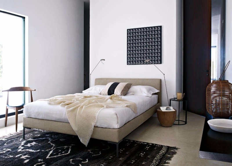 bb italia 12 Astonishing Bed Designs by BB Italia charles bed by BB italia modern bed design master bedroom ideas bedroom inspiration italian design