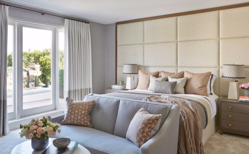 bedroom design bedroom design Bedroom Designs By Top Interior Designers: Helen Green charming bedroom design in north knightsbridge by helen green modern master bedroom ideas