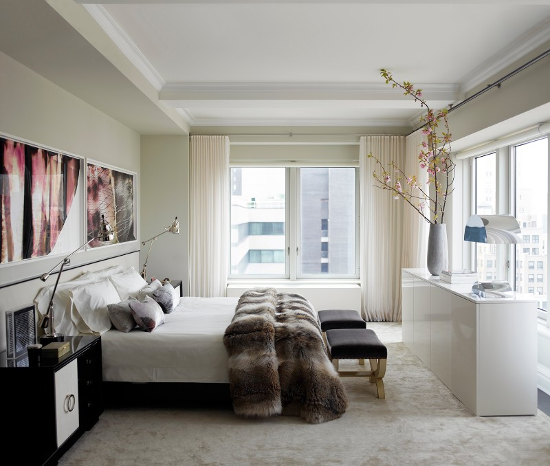 bedroom design Bedroom Designs by Top Interior Designers: Kelly Behun charming modern mid century bedroom design by kelly behun
