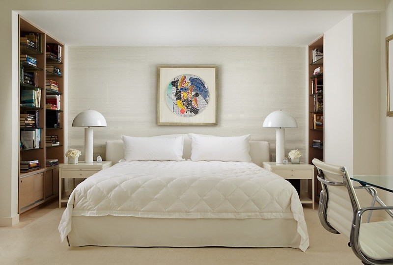 exquisite bedroom How to Choose the Perfect Bed for Exquisite Bedrooms charming white bed by brown davis interiors