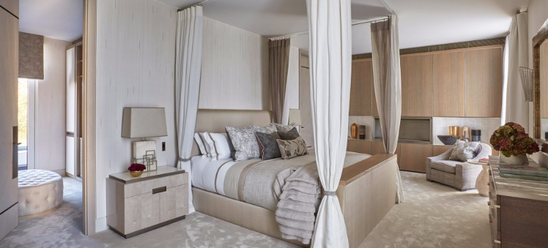 bedroom design Bedroom Designs By Top Interior Designers: Helen Green cream penthouse in south knightsbridge by helen green design master bedroom design ideas
