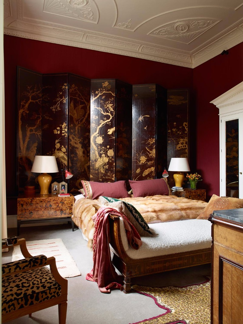 master bedroom 12 Sensational Eclectic Style Master Bedroom Designs douglas mackie sublime eclectic style master bedroom design ideas
