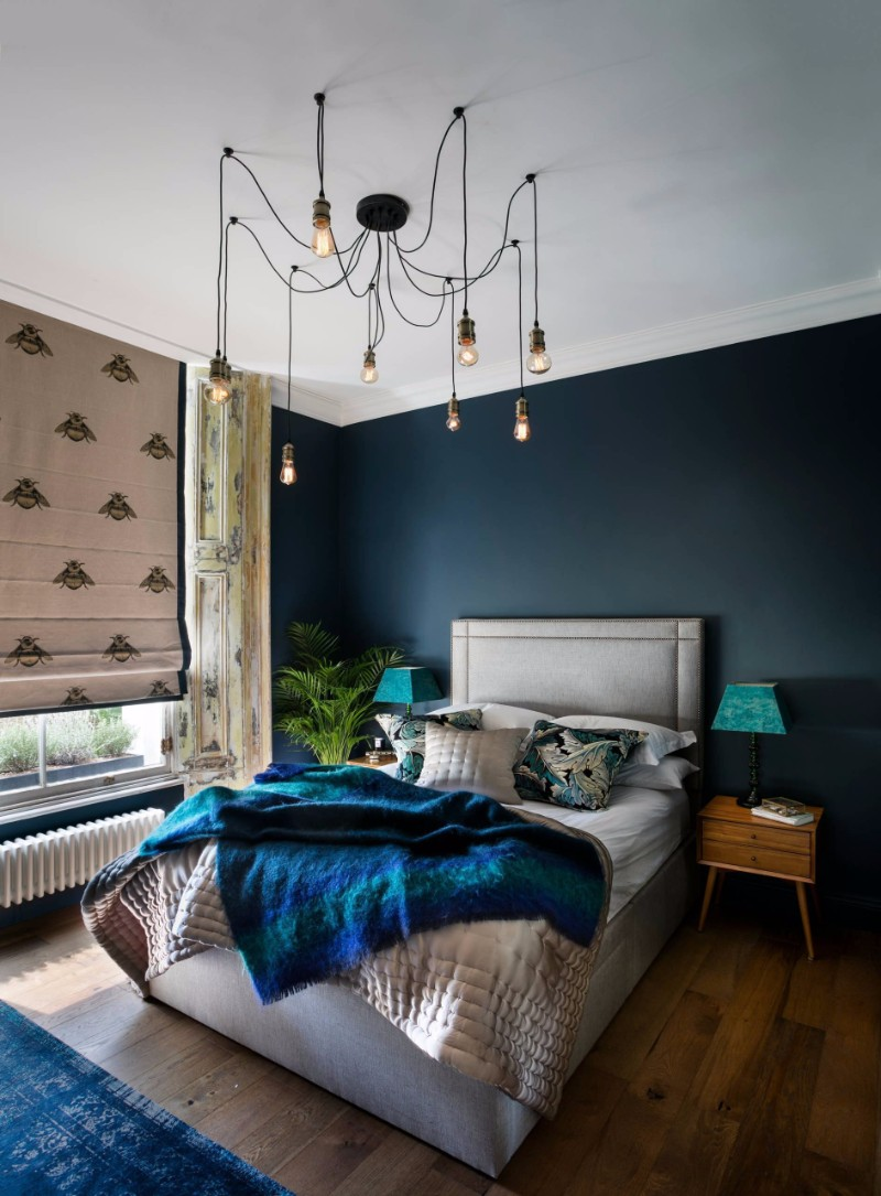 master bedroom 12 Sensational Eclectic Style Master Bedroom Designs eclectic style bedroom inspiration ideas beautiful pendant lamps gorgeous design