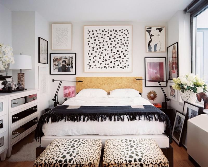 master bedroom 12 Sensational Eclectic Style Master Bedroom Designs eclectic style modern bedroom inspiration ideas interior design black and white leopard bedroom bench