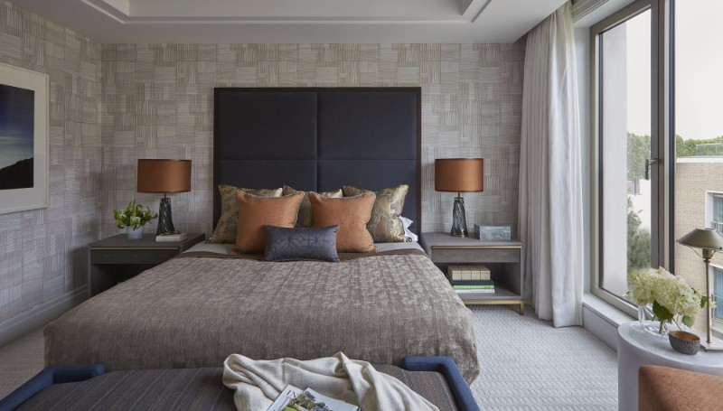 bedroom design Bedroom Designs By Top Interior Designers: Helen Green lateral apartment belgravia charming master bedroom design in cream tones by helen green 2