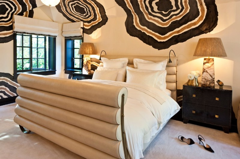 exquisite bedroom How to Choose the Perfect Bed for Exquisite Bedrooms outstanding bed design by kelly wearstler modern master bedroom