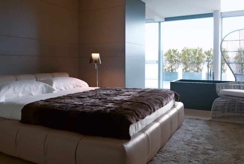 bb italia bb italia 12 Astonishing Bed Designs by BB Italia tufty bed by BB italia modern bed design master bedroom design ideas modern interior design