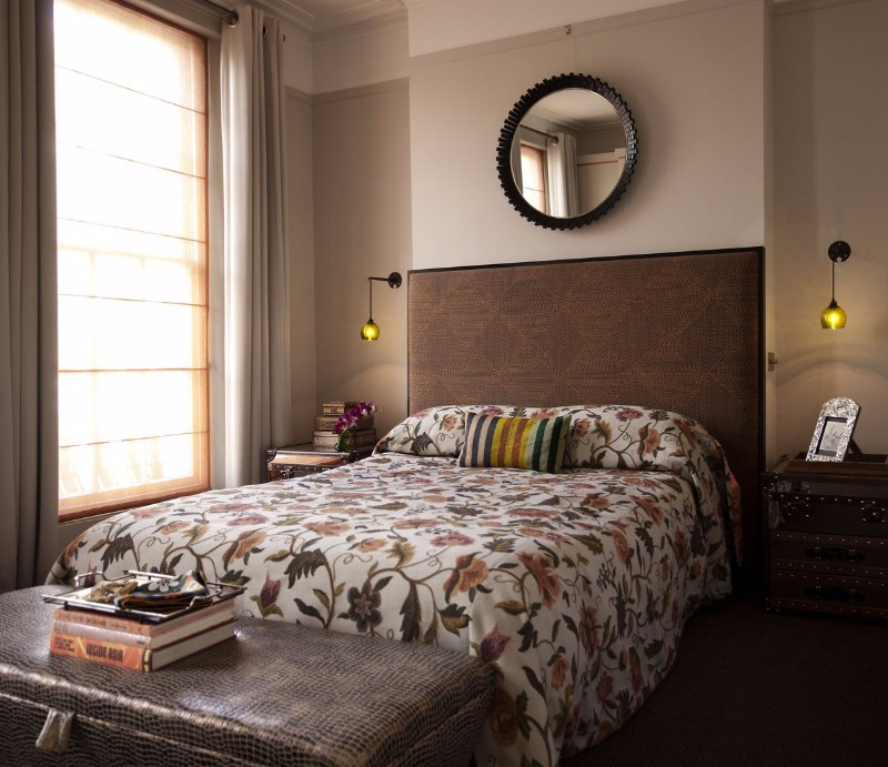 brown bedroom 10 Cozy Brown Bedroom Ideas For Fall 2017 Eclectic Bedroom design by Maddux Creative