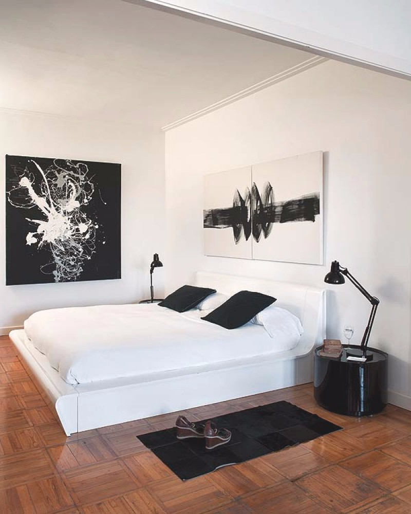 black and white bedroom Black and White bedroom 10 Sharp Black and White Bedroom Designs beautiful contemporary master bedroom design home decor ideas modern black and white bedroom inspiration
