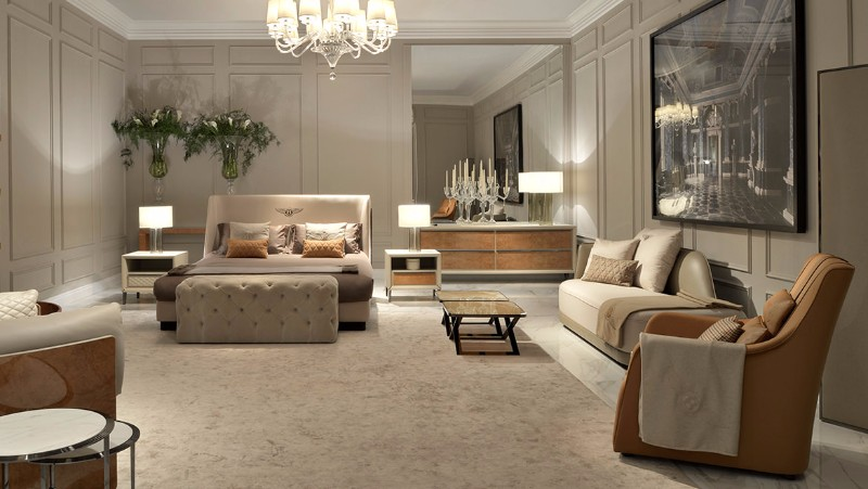 Enter icff 2017 bedroom designs by bentley home master for Bentley designs bedroom furniture