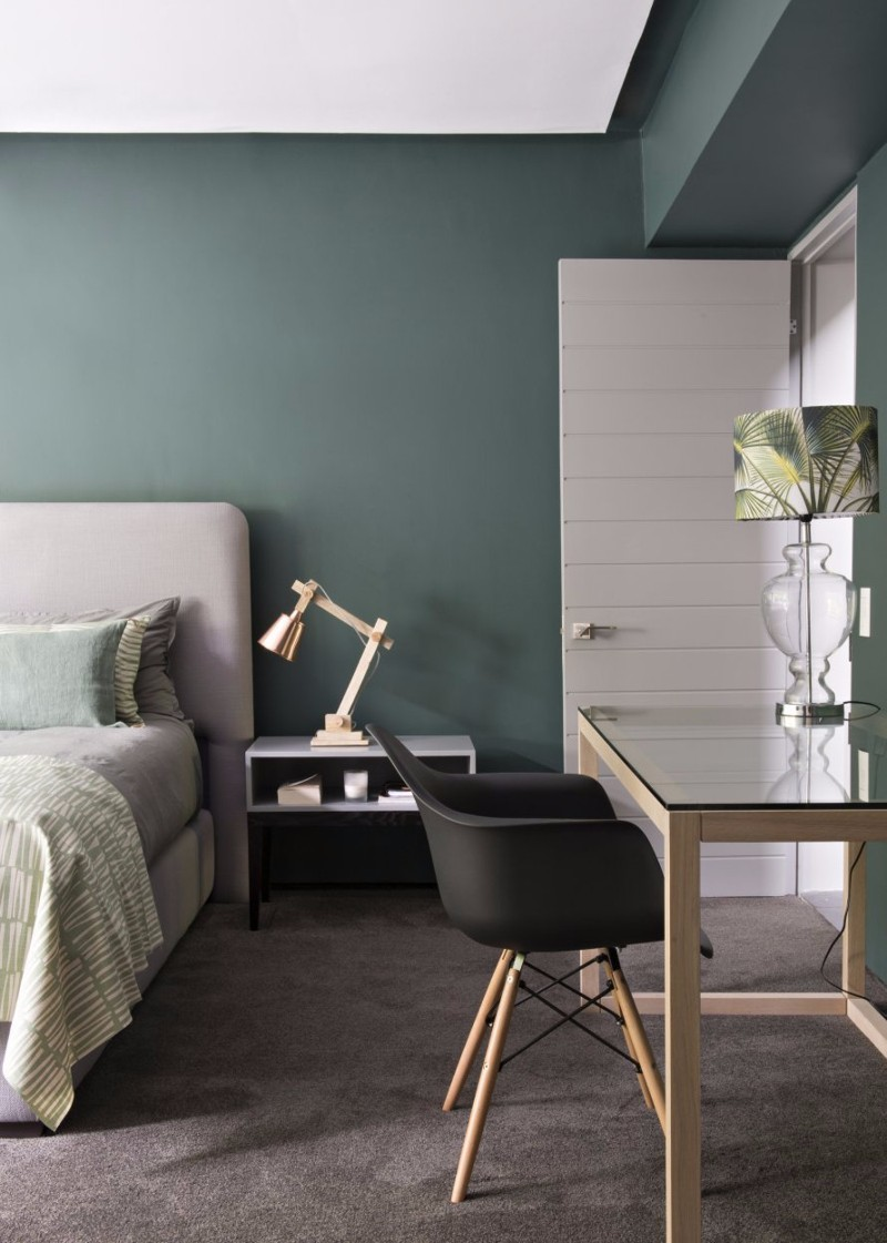 green bedroom 10 Exuberant Green Bedroom Designs beuatiful green bedroom design ideas modern master bedroom inspiration design