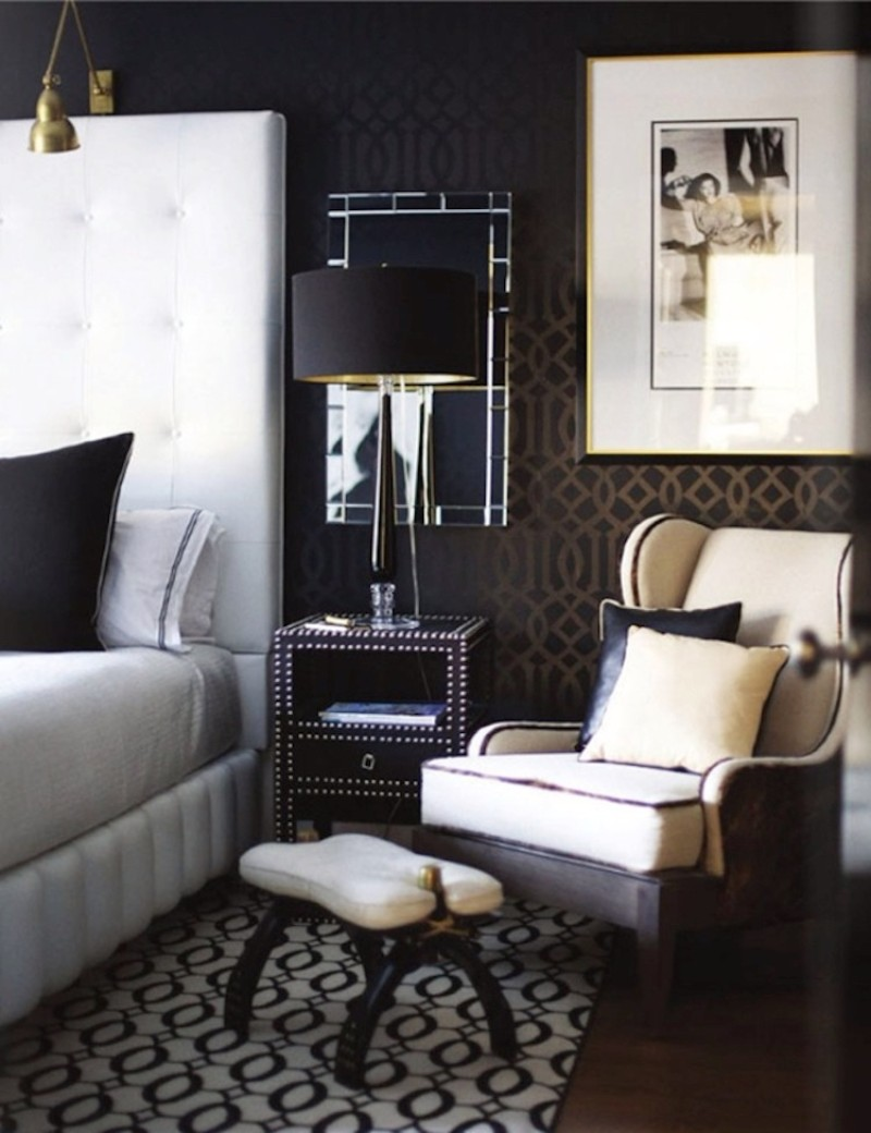 Black and White bedroom 10 Sharp Black and White Bedroom Designs black and white master bedroom design ideas modern master bedroom decor