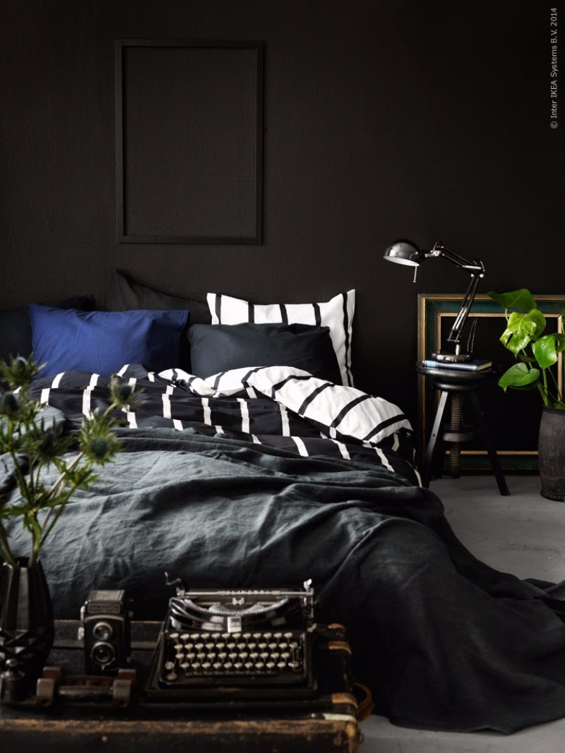 black bedroom Mystery & Charm with 10 Black Bedrooms black bedroom design ideas modern inspiration design black bedroom decor