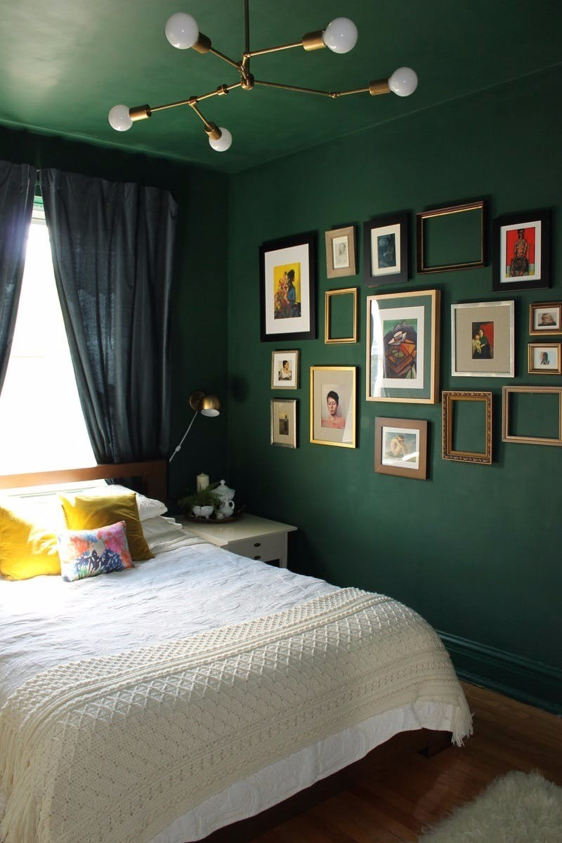 green bedroom 10 Exuberant Green Bedroom Designs charming green bedroom master bedroom design ideas modern bedroom decor