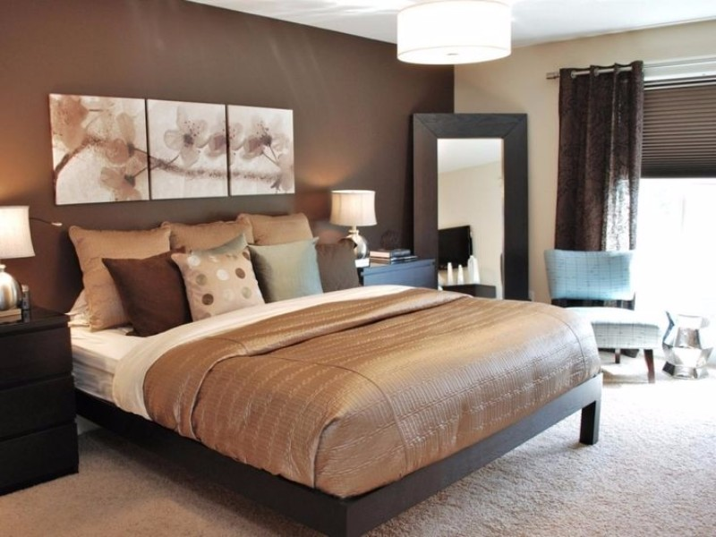 brown bedroom 10 Cozy Brown Bedroom Ideas For Fall 2017 chocolate bedroom design modern master bedroom ideas interior design