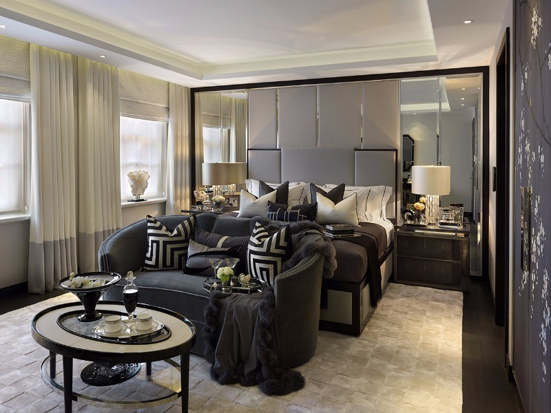 bedroom design Bedroom Designs by Top Interior Designers: Katharine Pooley contemporary master bedroom design katharine pooley modern bedroom ideas