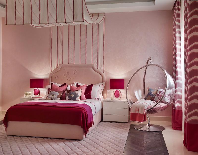 bedroom design Bedroom Designs by Top Interior Designers: Katharine Pooley katharine pooley pink bedroom design modern master bedroom ideas interior decor