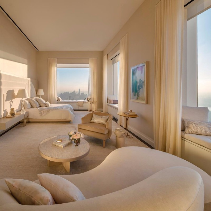 white bedroom Pinterest's 10 Most Charming White Bedroom Designs kelly behun modern penthouse new york master bedroom inspiration ideas interior design