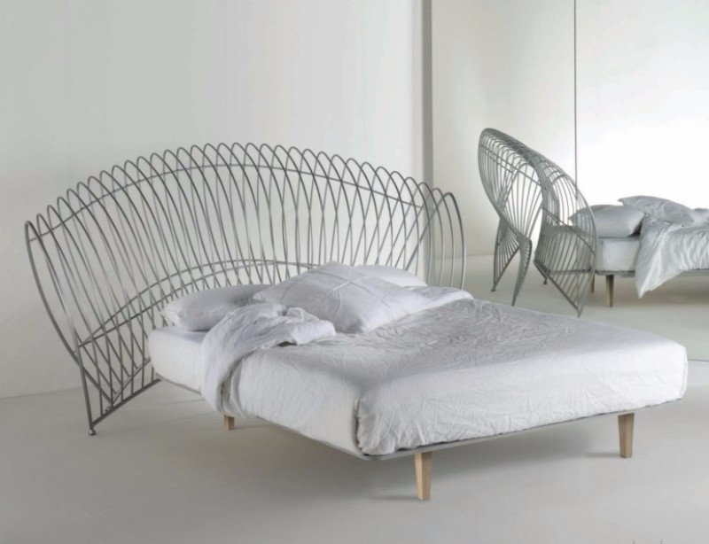bedroom design 100% Design 2017 Preview: 10 Bedroom Designs by Barel Italia metallic bed design by barel italia modern master bedroom design ideas