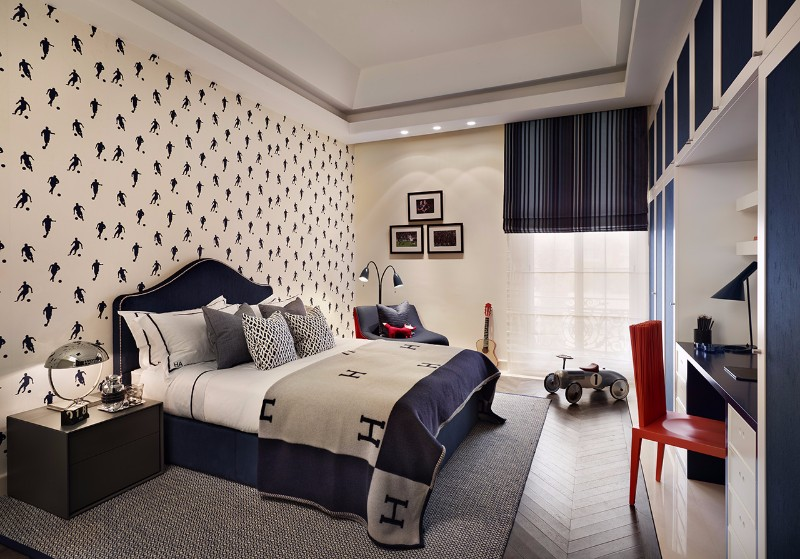 Bedroom designs by top interior designers katharine for Home decor qatar