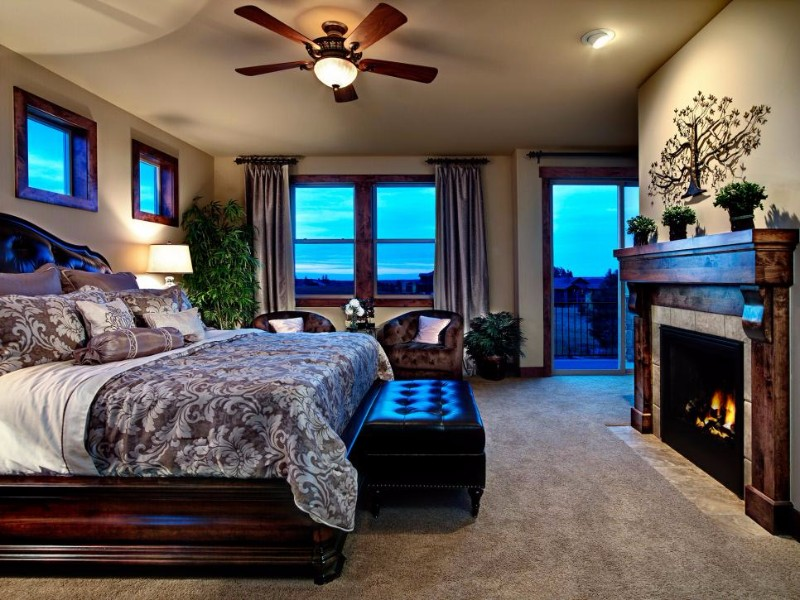 master bedroom 10 Master Bedroom With Fireplaces For Winter 2017 Bedroom Fireplaces