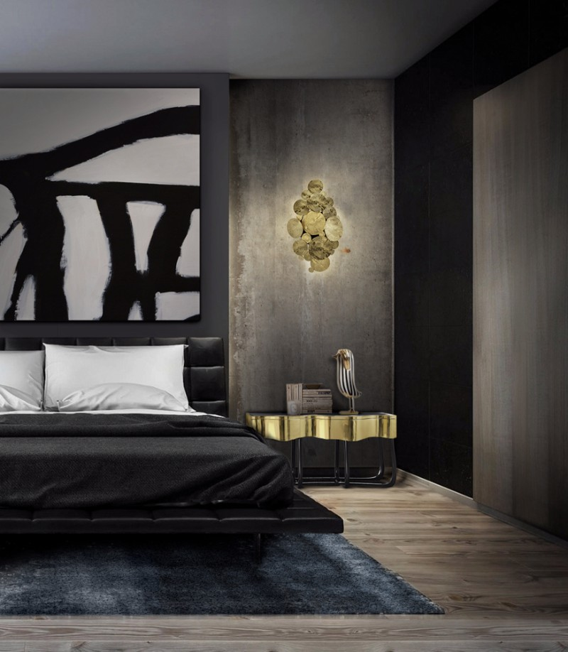 bedroom inspiration bedroom inspiration 100 Bedroom Inspirations with our Free Ebook Boca Do Lobo Sinuous Nightstand Luxury Bedroom Furniture Exclusive Design