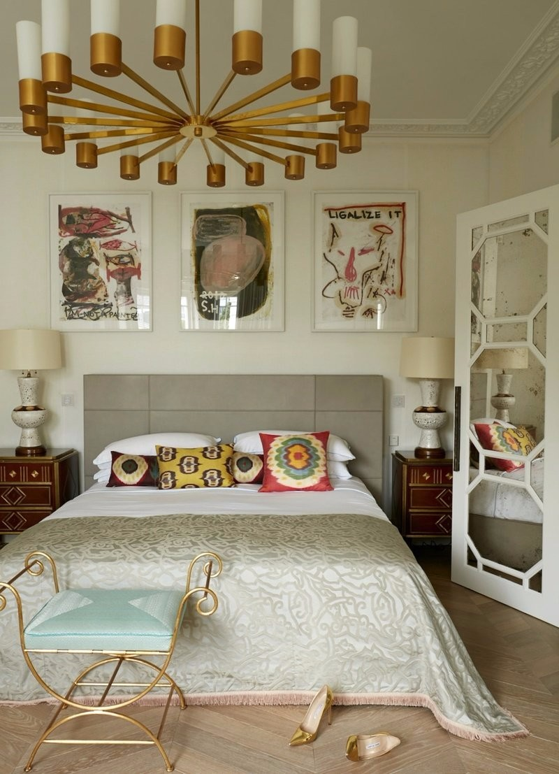 bedroom themes 10 Defining Bedroom Themes for 2018 Eclectic Master Bedroom Design by Maddux Creative Modern master bedroom ideas
