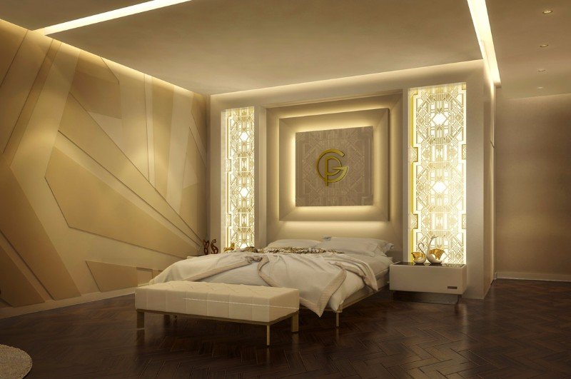Master Bedroom 12 Palatial Bedrooms In Dubai By TAO Designs Moscow Penthouse