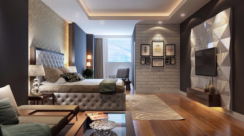 simple bedroom design 10 Elegant yet Simple Bedroom Designs charming modern bedroom inspiration design ideas modern master bedroom design