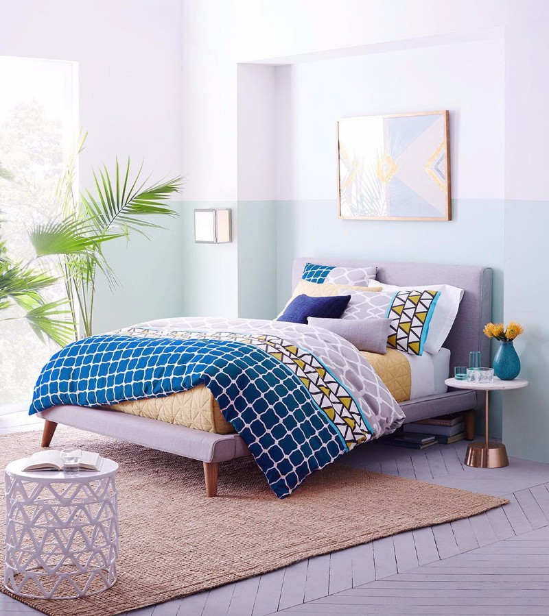bedroom design The Best Bedroom Designs Found on Instagram colorful modern master bedroom design ideas bedroom decor inspiration design instagram