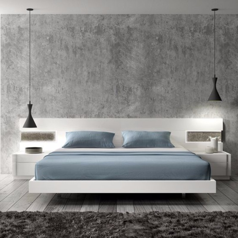bedroom inspiration bedroom inspiration Bedroom Inspiration in Shades of Grey and Blue ebe0d1ed95d2ceb702034be6b841b3dd